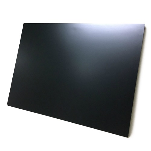 マーカーボード(木製) 黒色/ (46cm〜60cm) x (46cm〜60cm) x 厚み2.1cm