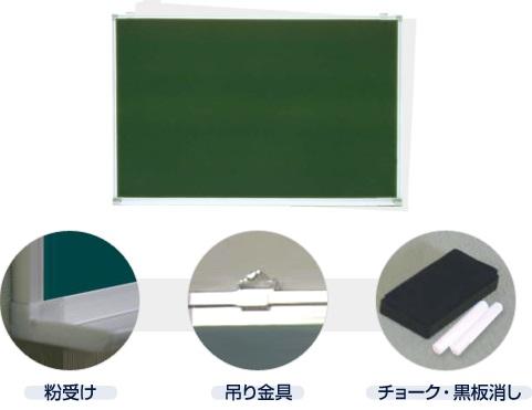 壁掛け式スチール製(無地)/ タテ90cm x ヨコ120cm x 厚み1.5cm(粉受け奥行き6.5cm)  重さ約9kg