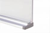 壁掛け式ホーロー製ホワイトボード 月予定表(横書きタイプ) / タテ90cm x ヨコ120cm x 厚み1.5cm(粉受け奥行き6.5cm)/重さ約9.5kg