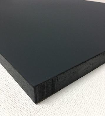 チョークボード(木製)黒色/ 60cm x 120cm x 厚み2.5cm  重さ約2.7kg