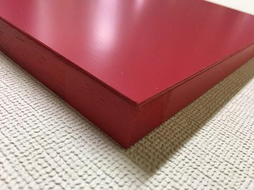 マーカーボード(木製) 赤色 / 30cm x 45cm x 厚み2cm  重さ約0.6kg