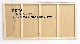 マーカーボード(木製) 黒色/ (30cm〜45cm) x (151cm〜180cm) x 厚み2.4cm