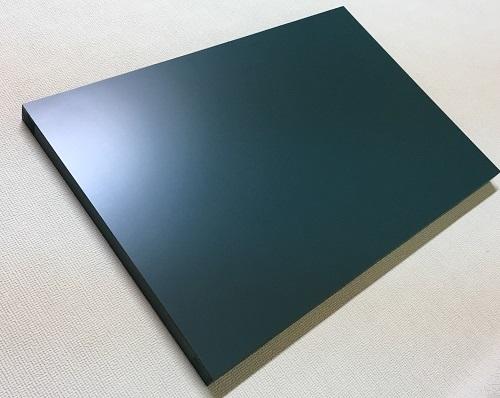 マーカーボード(木製) 緑色/ (30cm〜45cm) x (151cm〜180cm) x 厚み2.4cm