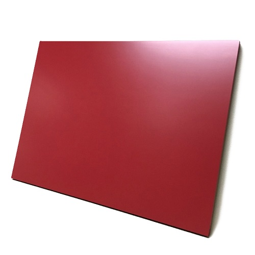 マーカーボード(木製) 赤色 / (30cm〜45cm) x (30cm〜45cm) x 厚み2.1cm
