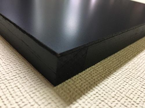 マーカーボード(木製) 黒色 / 45cm x 60cm x 厚み2cm  重さ約1kg