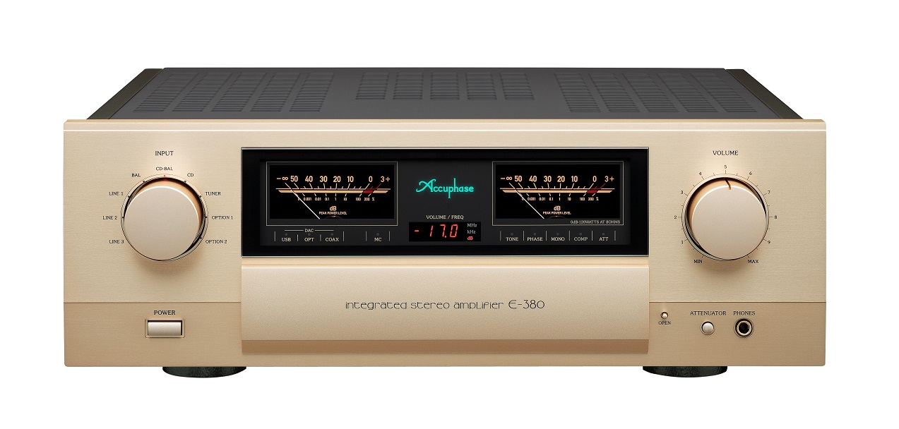 ACCUPHASE  E-380 (下取機種 ACCUPHASE E-370 )