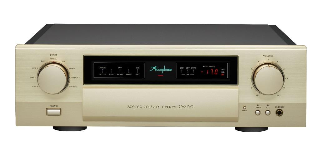 下取交換 ACCUPHASE C-2150 (下取機種 ACCUPHASE C-2120)