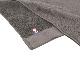【今治タオル】サンホーキン バスタオル (チャコールグレー&ブラウン) 約68×126cm