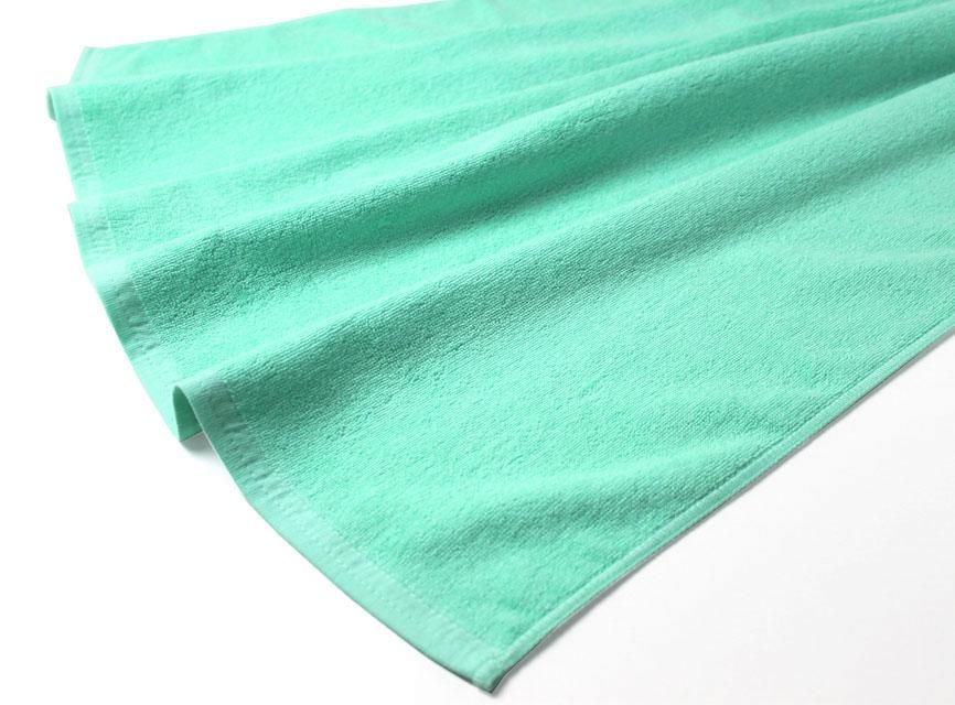 業務用 レピア織り スレン染め 超大判バスタオル・2000匁 約100×200cm (カラー)