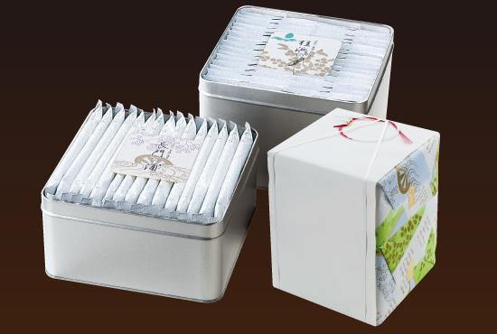 A-10 二重缶入 味・焼詰合せ 安芸の詩  合計47袋入