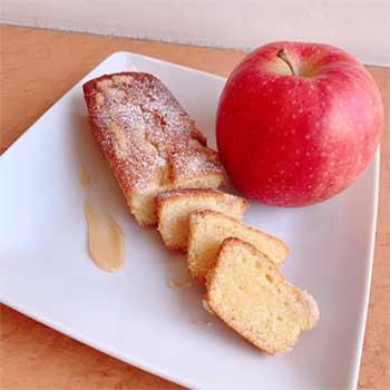 リンゴとミルクジャムのケイク