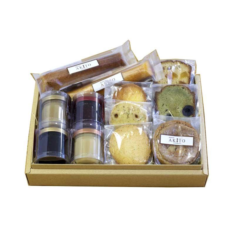 【期間限定B】小瓶のジャムと焼菓子セット
