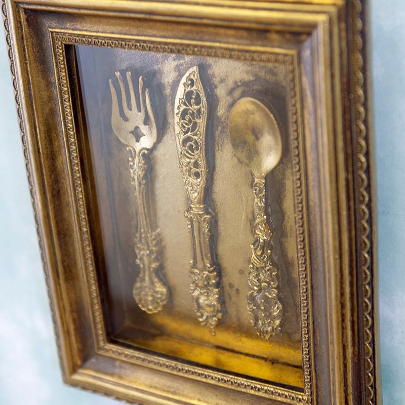 ロイヤルサロン[ウォールデコ(Cutlery)]