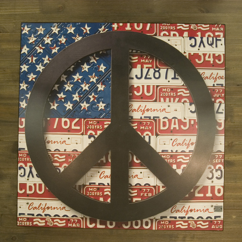 "Old New シリーズ[プレート""PEACE U.S.A""]<アメ雑>"
