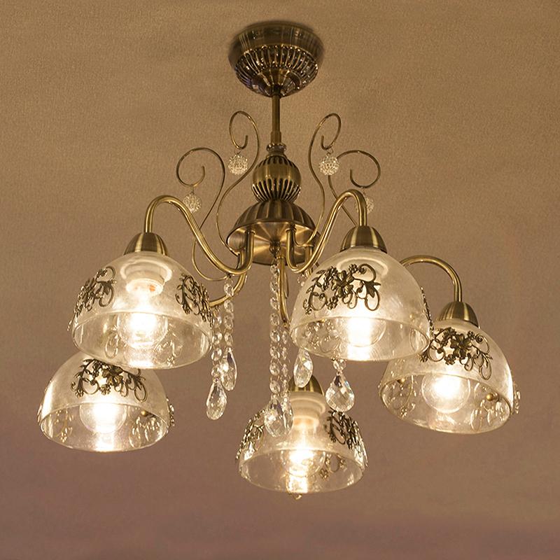 クラシカルシーリングランプ[プリシラ]【5灯】LED電球対応