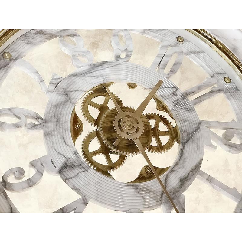 【壁掛時計】ビクトリアンパレス[ウォールクロック(大理石柄:ゼブラマーブル)]