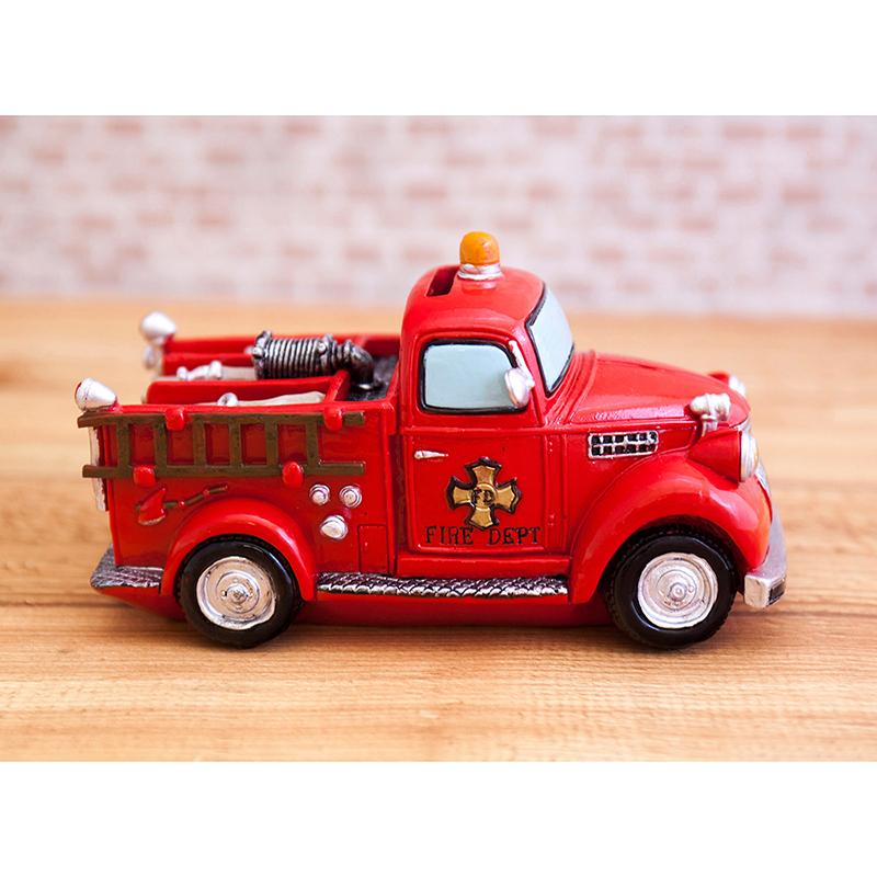 オールディーズ[マネーバンク(Fire truck)]<貯金箱>