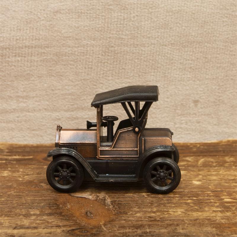 【ミニチュア】アンティークシャープナー[レトロ フォード]鉛筆削り