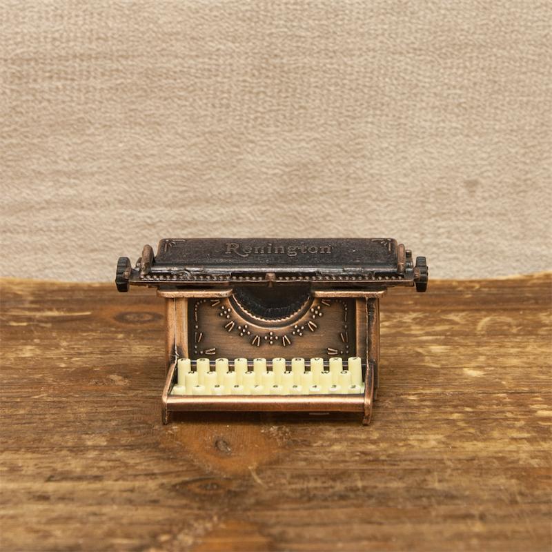 【ミニチュア】アンティークシャープナー[レトロ タイプライター]鉛筆削り