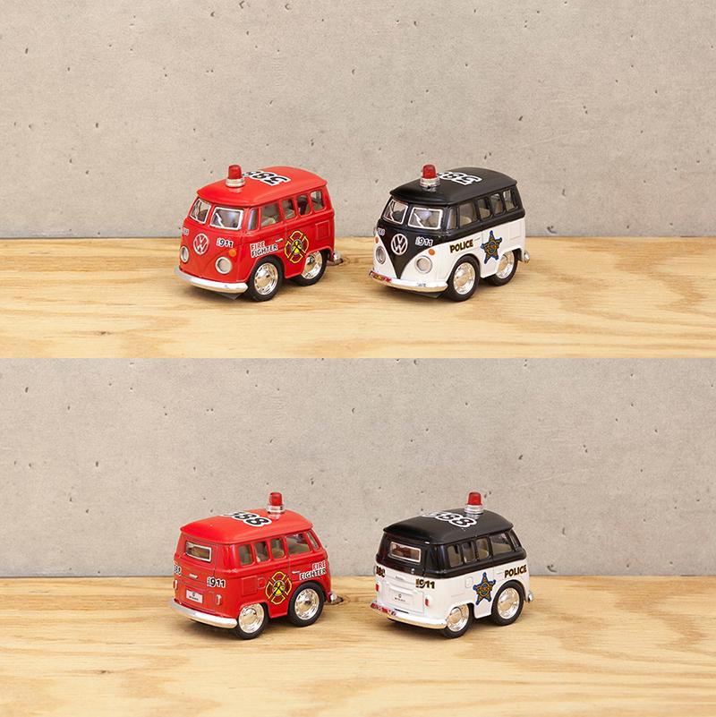 ダイキャストミニカー(S)[Little Van (Police/Fire Fighter)]【ロット12台】
