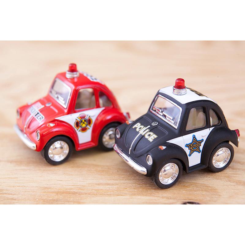 ダイキャストミニカー(S)[Little Beetle (Police/Fire Fighter)]【ロット12台】