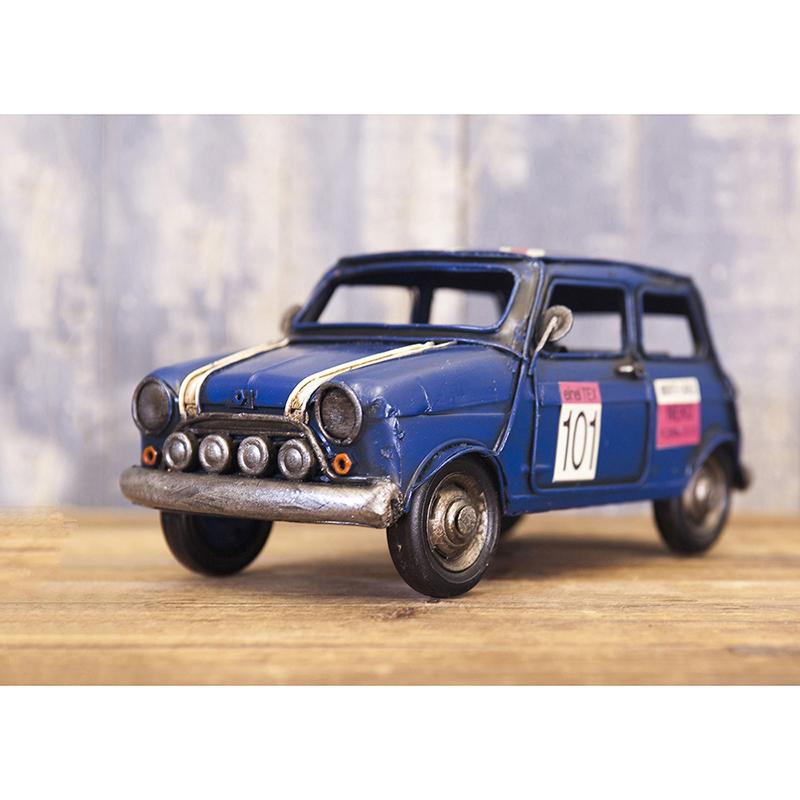 ヴィンテージカー[Mini CP(BL)]<アメリカン雑貨>