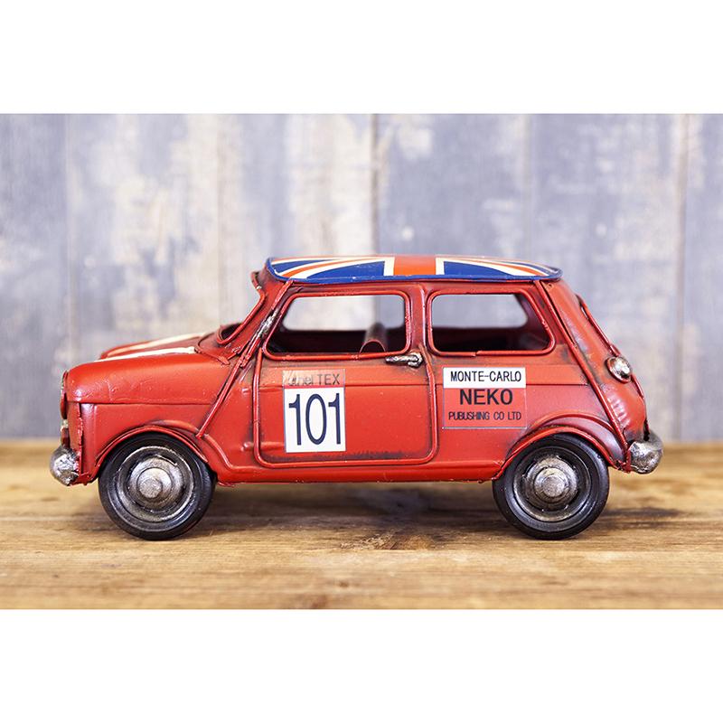 ヴィンテージカー[Mini CP(RD)]<アメリカン雑貨>
