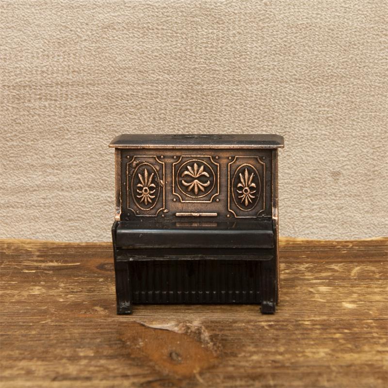 【ミニチュア】アンティークシャープナー[アップライトピアノ]鉛筆削り