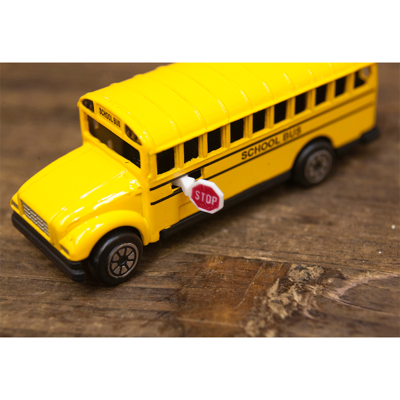 【ミニチュア】アンティークシャープナー[スクールバス]鉛筆削り