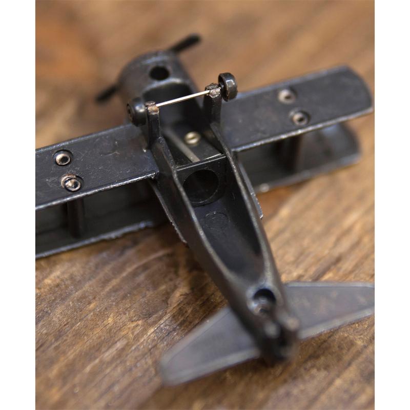 【ミニチュア】アンティークシャープナー[レトロ 飛行機]鉛筆削り