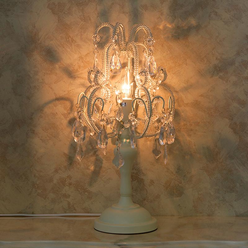 【置照明】 テーブルランプ [ダイアナ(1灯)](Cream)