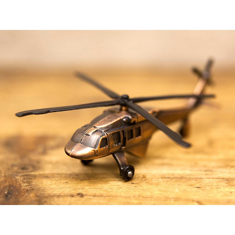 アンティークシャープナー[ヘリコプター]鉛筆削り