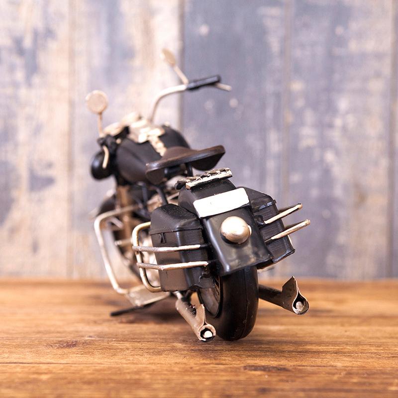 ヴィンテージカー[オールド バイク]  ブラック