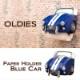 オールディーズ[トイレットペーパーホルダー(BLUE CAR)]