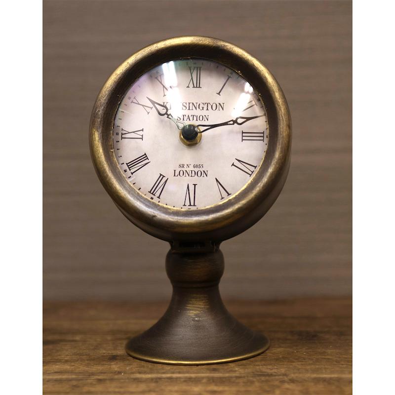 【SALE】ステーションクロック[スタンド]【置時計】