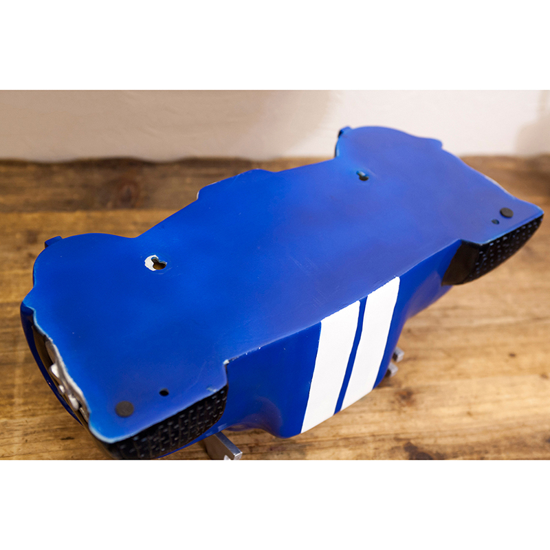 オールディーズ[CAR HEADシェルフ(BLUE CAR)]<アメリカン雑貨>