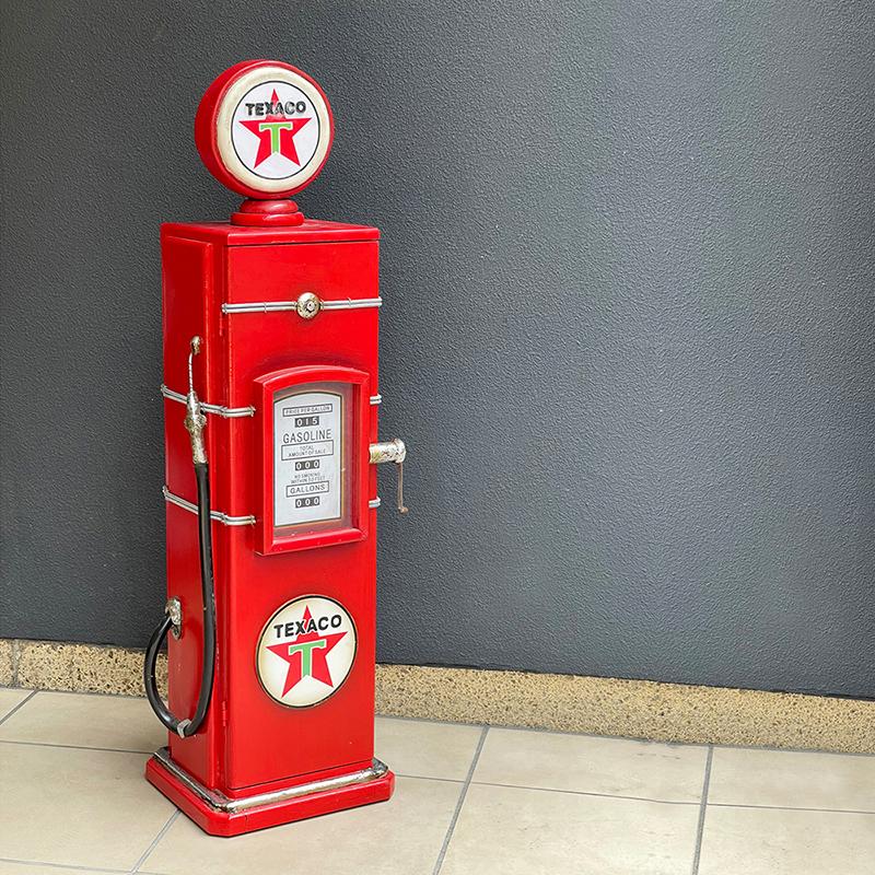 アンティークアイテムCDホルダー[ガスポンプ(TEXACO)]<アメリカン雑貨>