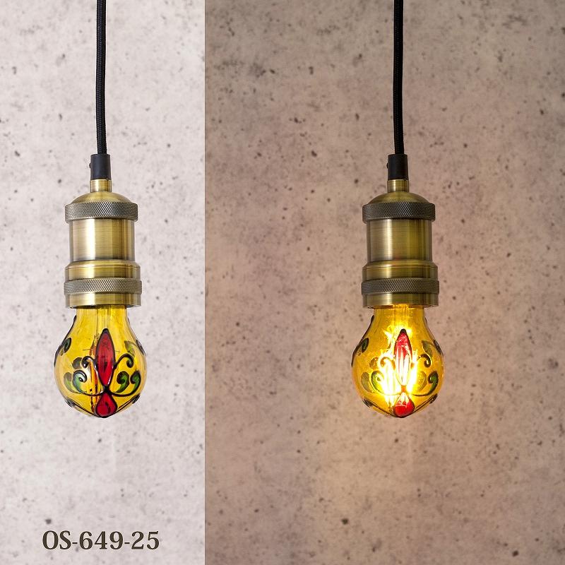 LED カラーデコ フィラメントバルブ【3W E26 梨型】
