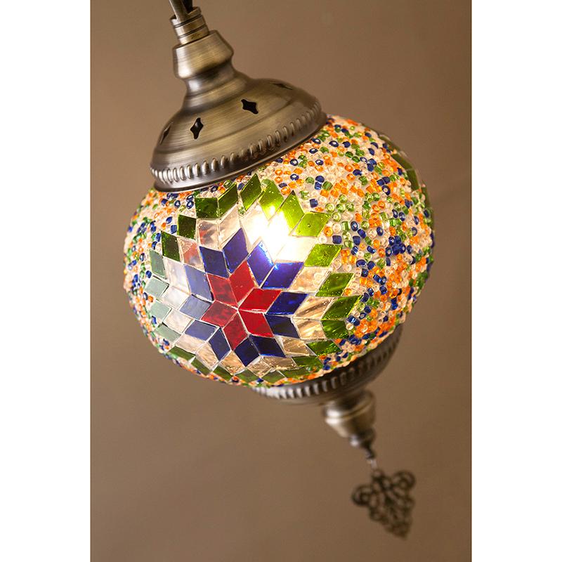 【吊照明】ジョルダン モザイクランプ[ペンダントランプ]<LED付属>