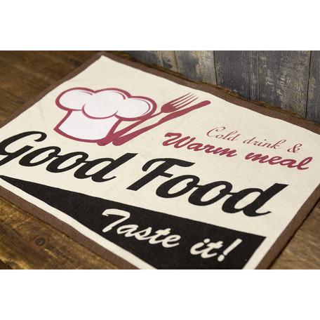 【フラッグシリーズ】ランチョンマット[USA・UK・ROUTE66・AIR FORCE・Hamburgers・Good Food]<アメ雑>