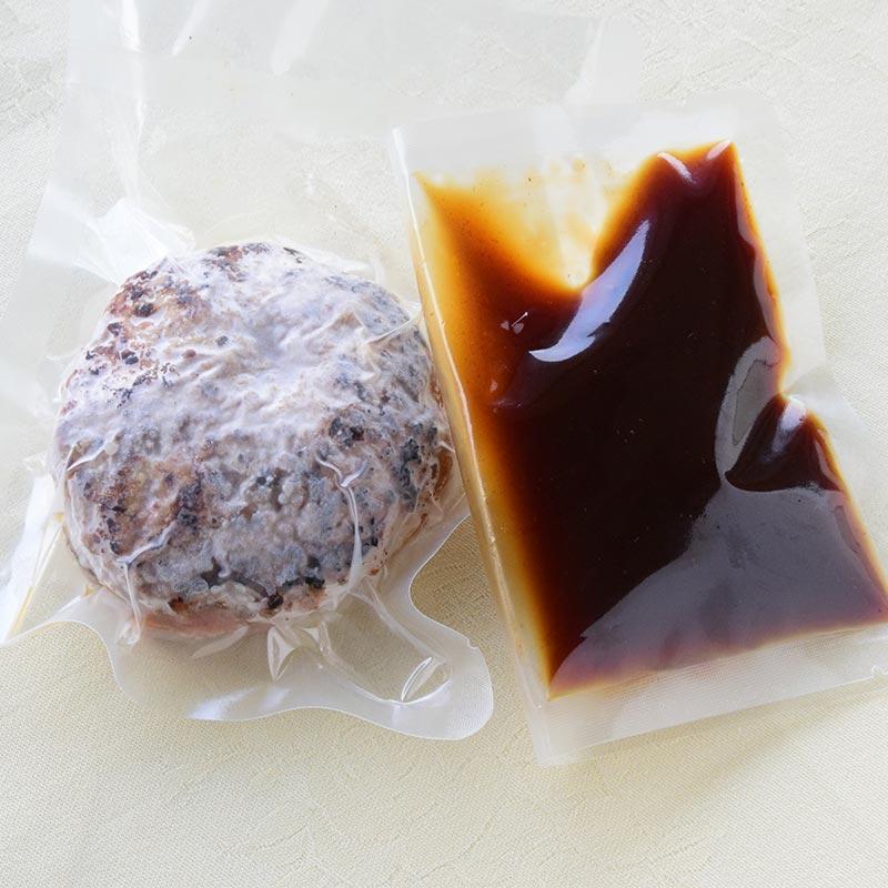 ハンバーグ デミグラスソース