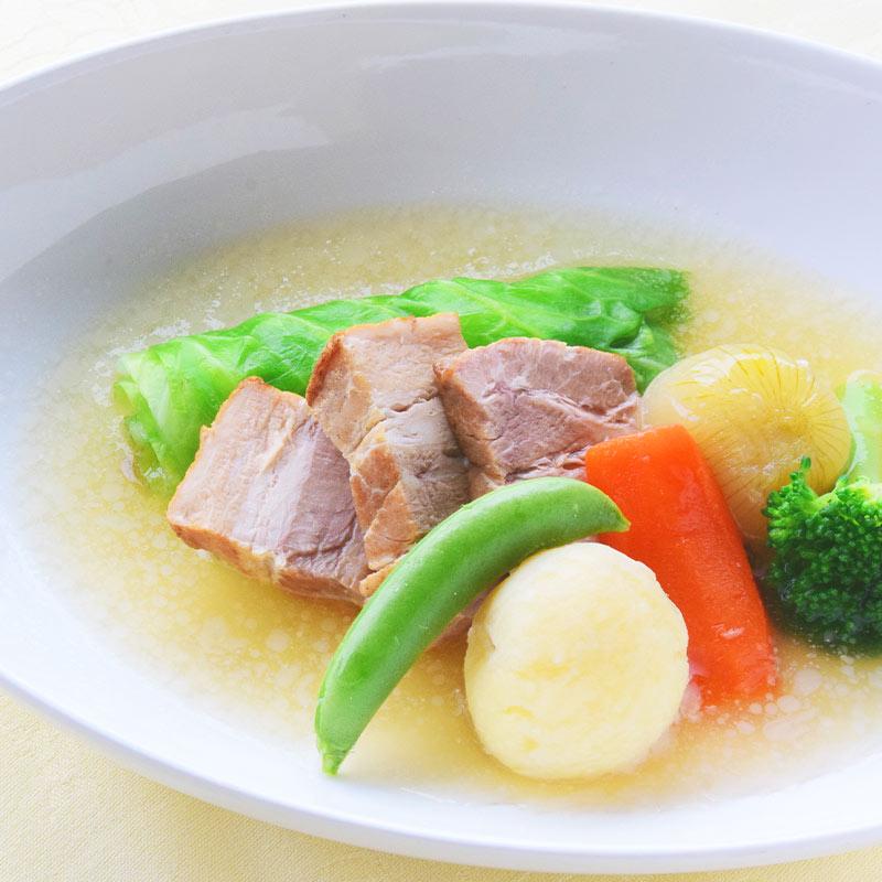 豚バラ肉と野菜のポトフ