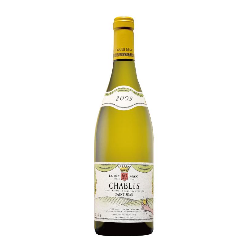 当店の一押し白ワイン 「ルイ・マックス シャブリ サン・ジャン」(2019)