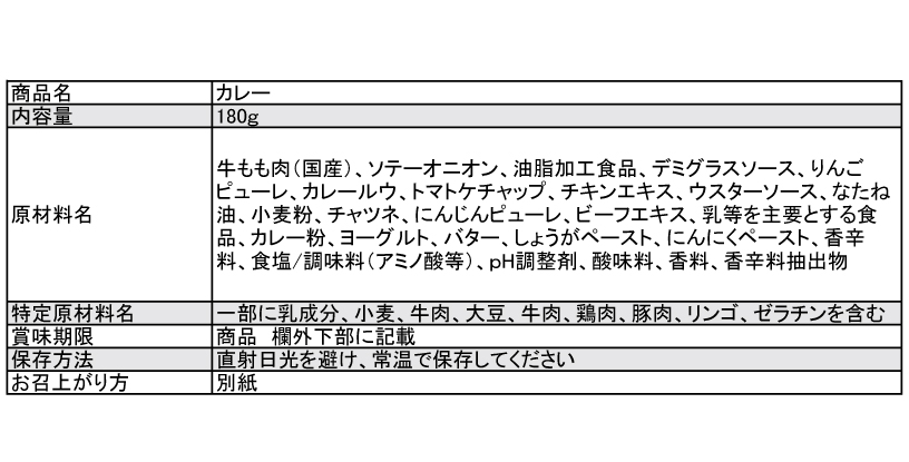 アラスカ特製スペシャルビーフカレー【レトルト】 180g×5パック 桐箱入り