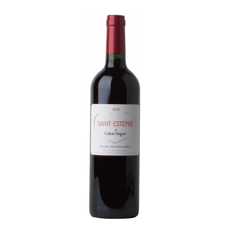 当店の一押し赤ワイン 「サン・テステフ・ド・カロン・セギュール」(2017)