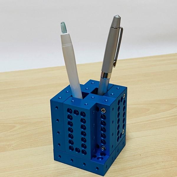 ブロック10ピースセット(ブルー) 【ギフトボックス入り】