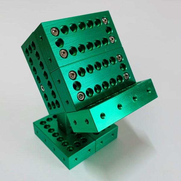 ブロック10ピースセット(グリーン) 【ギフトボックス入り】