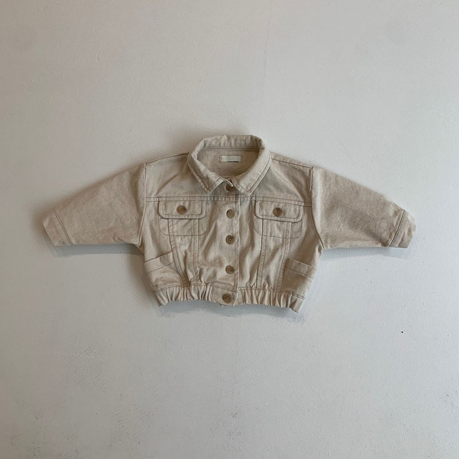 baby denim jacket setup