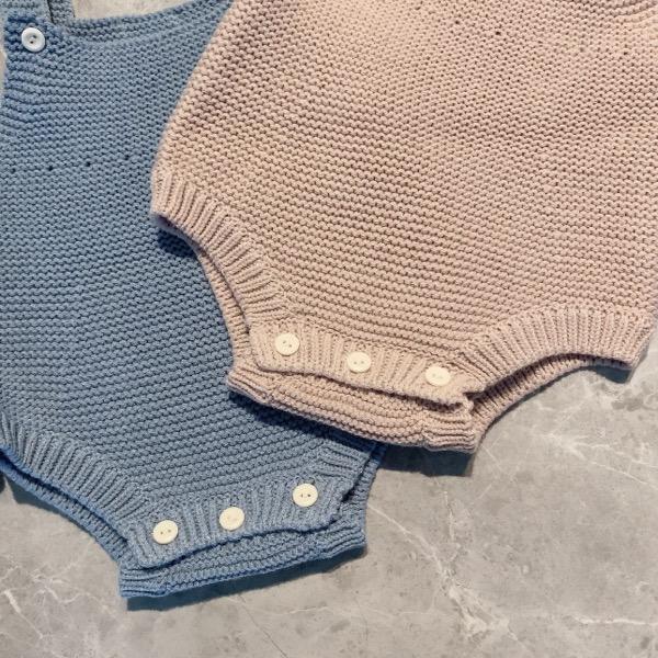 Knit salopette(60-70)