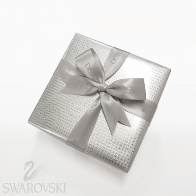スワロフスキー SWAROVSKI ラッピング シルバー 【純正包装紙でラッピング】